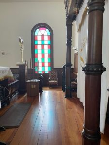 Temple Emanuel stained glass